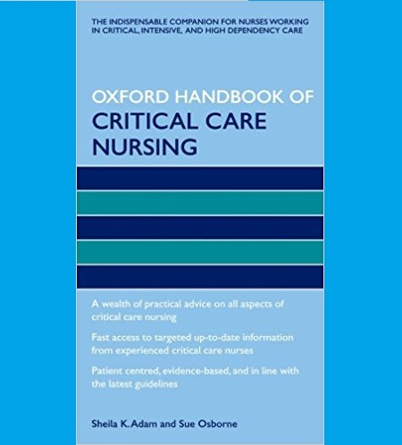 Oxford Handbook of Critical Care Nursing Pdf