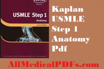 Kaplan USMLE Step 1 Anatomy Pdf