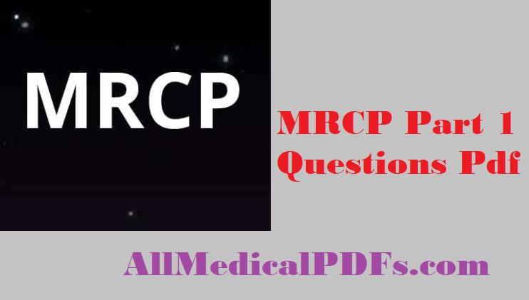 MRCP part 1 questions pdf