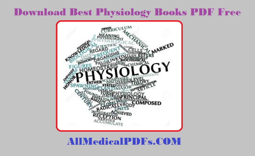 Best Physiology Books Pdf