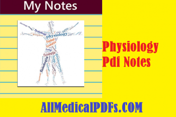 Physiology Pdf Notes